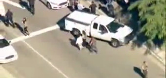 Strage di San Bernardino, raro video sul prima e dopo