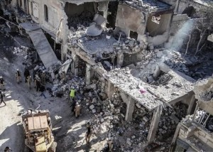 Siria AMInt_damaged_ariha_market