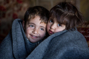 Siria bambino rifugiato che mi somiglia