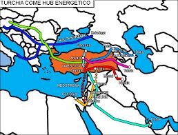 Turchia come hub energetico. Immagine tratta da www.altd.it