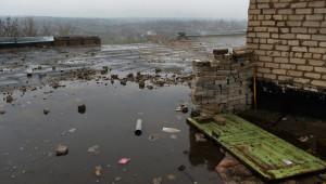 Un'immagine della zona occupata dai russi in Donbas
