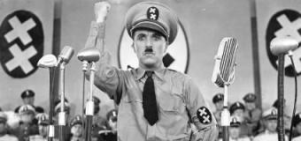 """""""Il grande dittatore"""" di Chaplin torna al cinema per un messaggio di pace"""