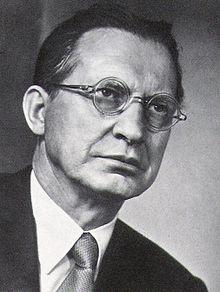 Alcide De Gasperi. Foto tratta da Wikipedia