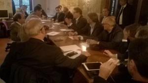 Una riunione di Forza Italia all'ARS