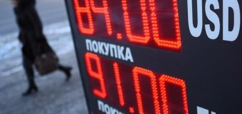 Euro asfalta Rublo 90 a 1