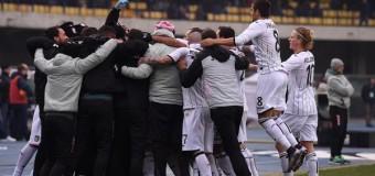 Il Palermo vince a Verona contro tutto