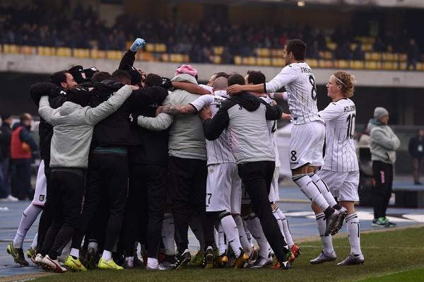 Il Palermo festefggia senza Ballardini