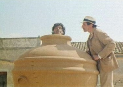 """Franco Franchi e Ciccio Ingrassia in """"Kaos"""" dei fratelli Taviani (1984)"""