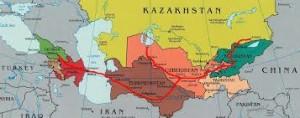 Via della Seta Asia Centrale