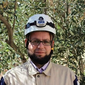 White helmets hero
