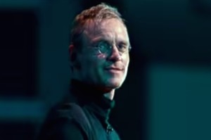 Michael Fassbender nel ruolo di Steve Jobs