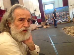 Mimmo Cuticchio. Foto di Gabriele Bonafede