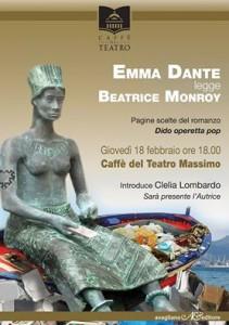 locandina Dante Monroy