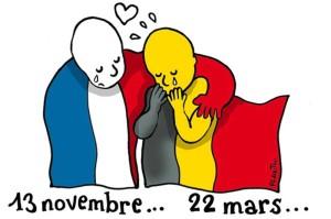 La vignetta di Le Monde che ha fatto il giro del mondo.