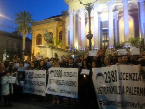 Almaviva, la notte della vertenza continua: quasi 3000 licenziamenti previsti in tutta Italia, 1670 dei quali a Palermo.