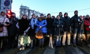 Proteste riguardanti il recupero crediti in Russia.