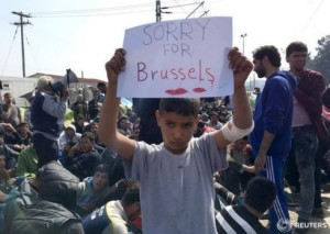Sorry for Bruxelles Reuters