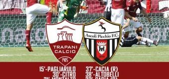 Il Trapani vince ancora e accarezza il sogno Serie A