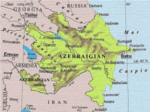 Azerbaijan cartina