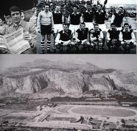 Cesare_Maldini Palermo 1953 e Stadio .