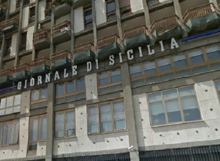 Giornale di Sicilia sede via Lincoln p
