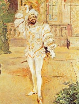 Francisco d'Andrade intepreta il Don Giovanni, un maestro del piacere. E Max Slevogt lo dipinge.