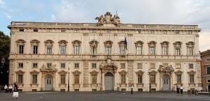 Palazzo della Consulta a Roma. Foto tratta da Wikipedia