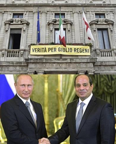 Verità per Gulio Regeni_Putin al Sisi