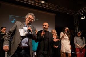 Il regista Giuseppe Giglioroso insieme a Paride Bendassi, protagonista del film insieme a Salvo Piparo