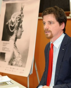 Andrea Inzerillo direttore aertistico del sicilia Quee. Foto di Giulio Azzarello
