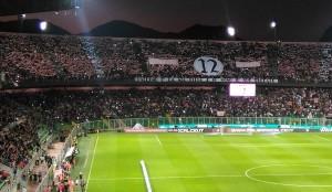 Palermo salvo, e Curva Nord di nuovo in festa. Foto di Carmelo Busardò