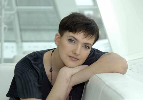 Nadia savchenko immagine twittata da Poroshenko