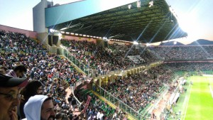 Tribune Palermo Verona