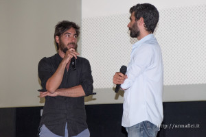 Bartolomeo Pampaloni al microfono