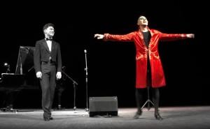 Ernesto Tomasini riabbraccia Palermo insieme a Konstanti Lapshin al Biondo. Uno dei momenti più emozionanti nella stagione del Teatro Biondo 2015-2016
