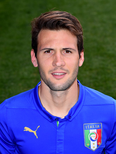FLORENCE, ITALY - MARCH 24:  Franco Vazquez of Italy poses for a portrait session at Coverciano on March 24, 2015 in Florence, Italy.  (Photo by Claudio Villa/Getty Images)