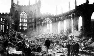 Brexit? Un salto nel passato: qui Coventry nel 1940. Qualcuno ha la memoria corta