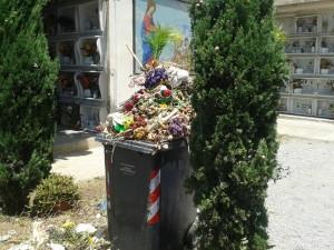Verde pubblico e rifiuti privati nelle strade di Bagheria