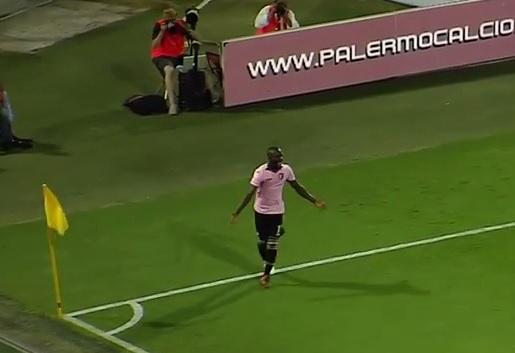 Embalo, questo è un giocatore serio nel Palermo 2016-2017.