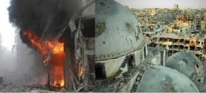 """Una città """"riconquistata"""" dal regime siriano"""