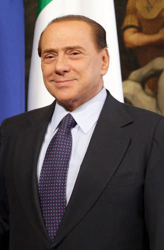 Silvio Berlusconi ai tempi della Presidenza del Consiglio