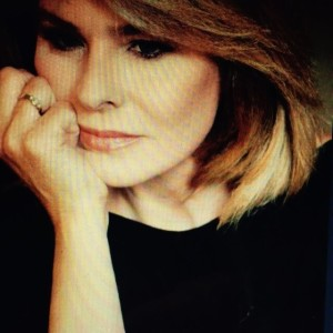 L'attrice Giusi Cataldo, ideatrice, madrina e organizzatrice della Notte di Zucchero a Palermo.