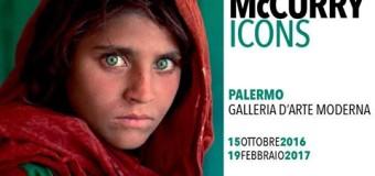 ICONS, la pittura istantanea di Steve McCurry a Palermo