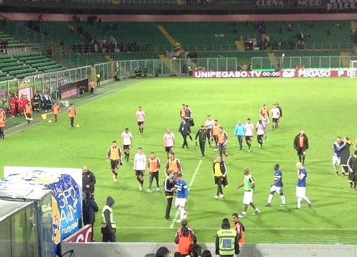 Palermo Udinese 1 a 3 giocatori escono