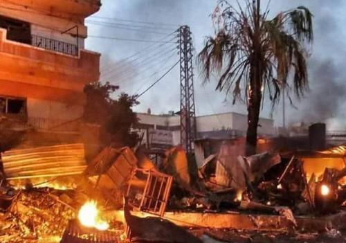 Bombe incendiarie Siria 15 nov 2015