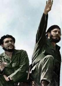 Che Gevara e Fidel Castro, quando erano assieme.
