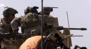 Militari in azione per la liberazione di Mosul