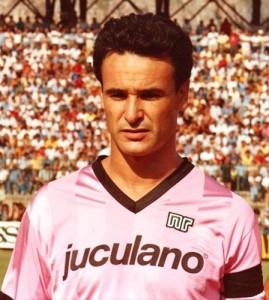 Ranieri con maglia del Palermo.