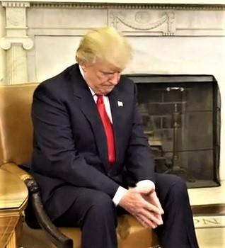 Trump sembra preoccupato1 bis