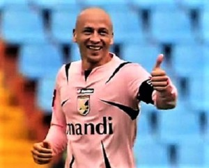 Eugenio Corini. Vero trascinatore rosanero.